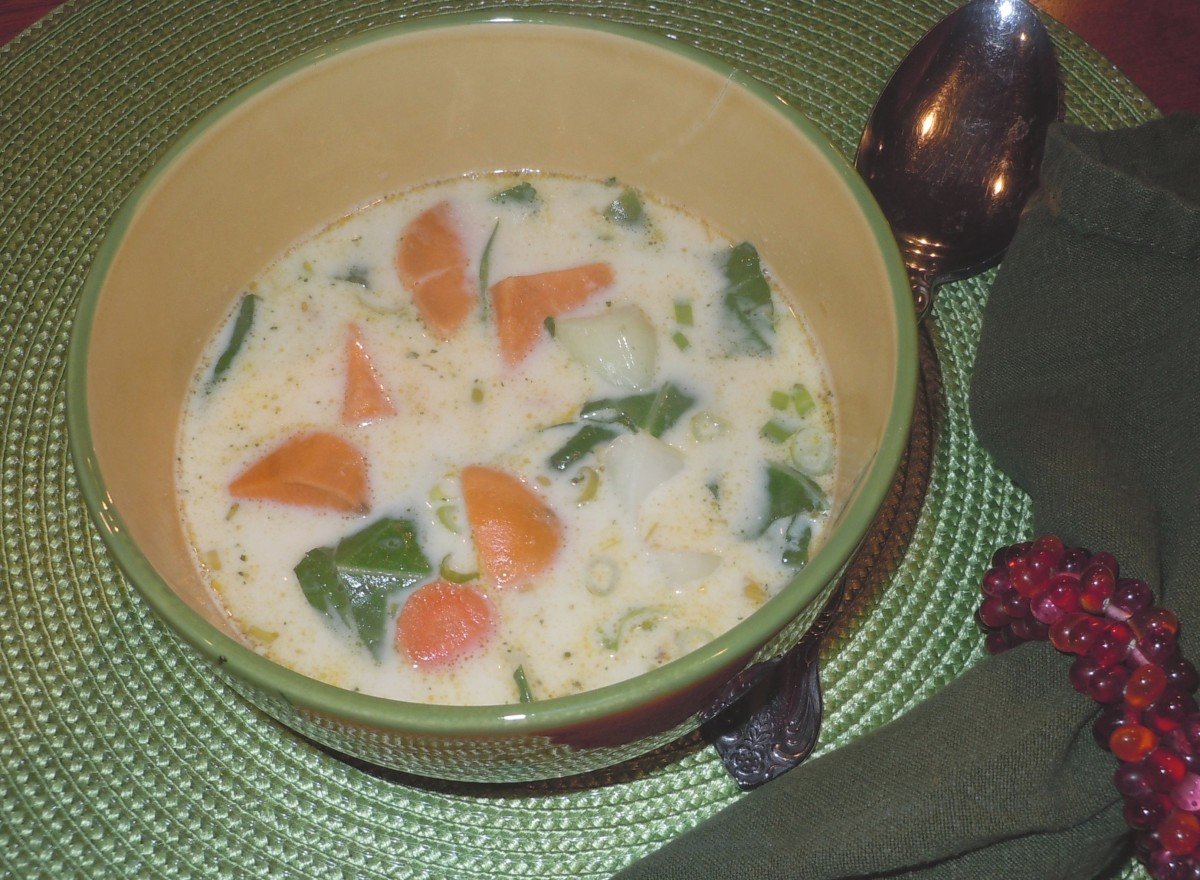 Coconut Milk/Sweet Potato Soup
