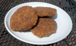 Almond pulp and green apple rawcookies