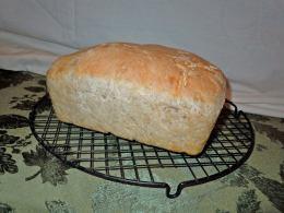 Sprouted-grain sourdough bread