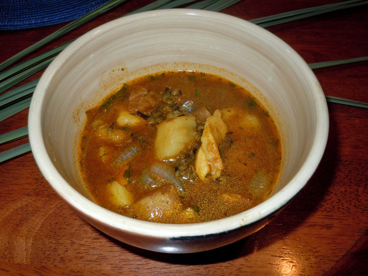 Wild Rice and Grouper Soup